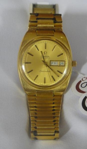 f98e42f7e09 Relógio masculino suíço de pulso com calendário duplo da marca