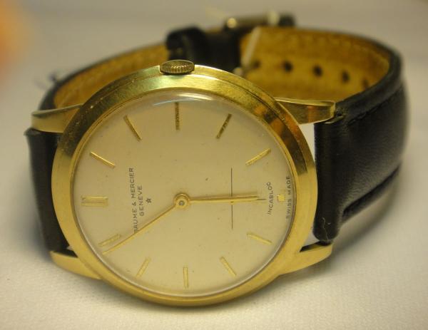 75f5ce6204e BAUME   MERCIER. Relógio masculino suíço de pulso da marca. content image 0