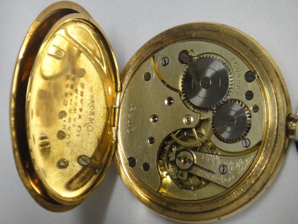 68a2aca7833 Antigo relógio suíço de bolso da marca