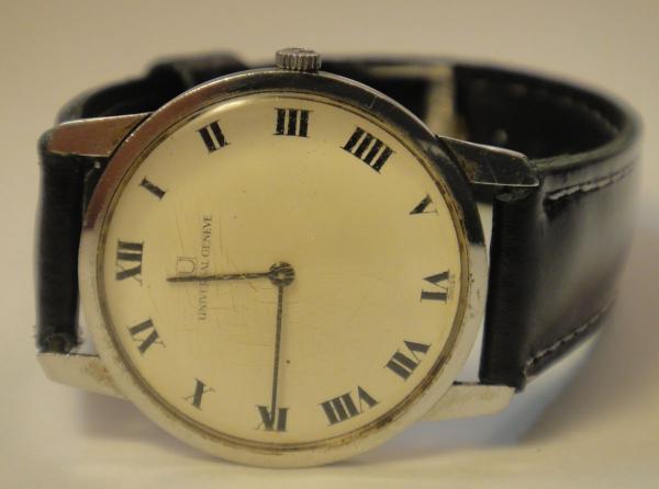 abbec3969ff UNIVERSAL-GENEVE. Relógio suíço masculino de pulso da m