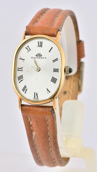 b7716243173 BUCHERER. Relógio feminino suíço de pulso da marca