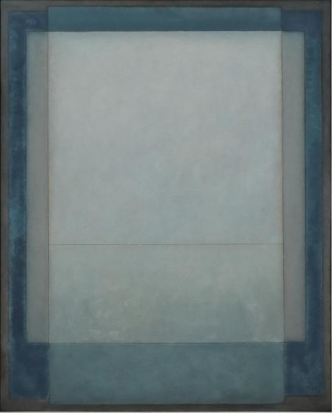 """IANELLI, ARCÂNGELO (1922-2009). """"Sem Título"""", óleo s/ tela, 100 X 80. Assinado e datado (1983) no c.i.d. Reproduzido com foto no catálogo."""