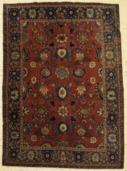 Tapete Isfahan, medindo: 2,05 X 1,40 = 2,87m².