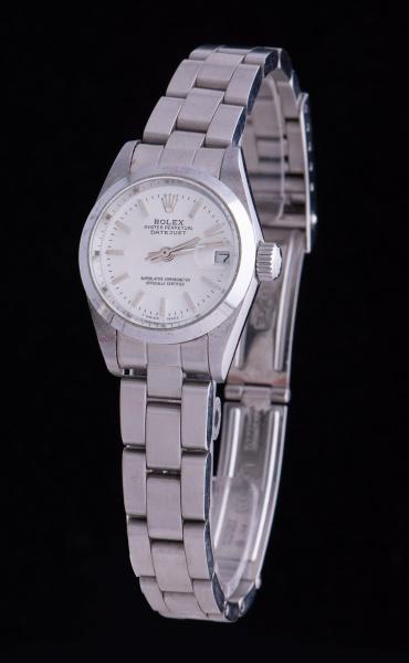 d20c4309942 ROLEX. Relógio feminino suíço de pulso com calendário da marca. content  image 0