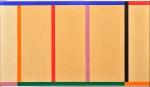 EDUARDO SUED (1925). Sem Título, óleo s/ tela, 90 x 155. Assinado e datado (1987) no verso. Reprod