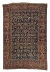 Raro tapete Heriz (circa 1890), medindo: 5,70 x 3,75 = 21,38m².