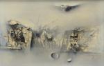 """SATYRO MARQUES (1935). """"Cavaleiros do Apocalipse"""", óleo s/ tela, 28 x 41. Assinado (1978) no c.i.d."""